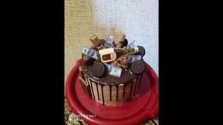 Торт на юбилей 50 лет мужчине