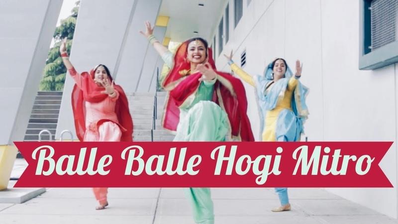 Gidha Bhangra on Balle Balle Hogi Mitro DJ SANJ BHANGRAlicious Choreography