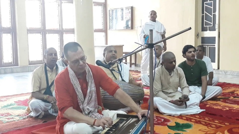 18.10.2019, Курукшетра, Бхаджан Бхаджаху ре мана, Кришна Мишра дас