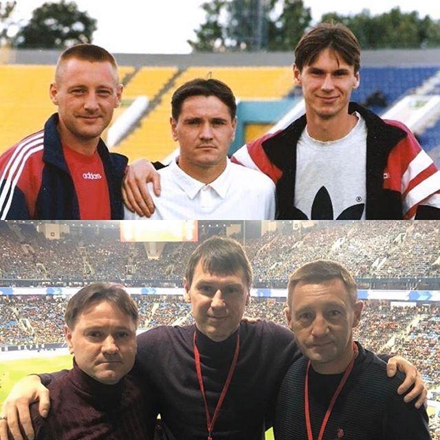 Андрей Тихонов, Егор Титов и Дмитрий Аленичев