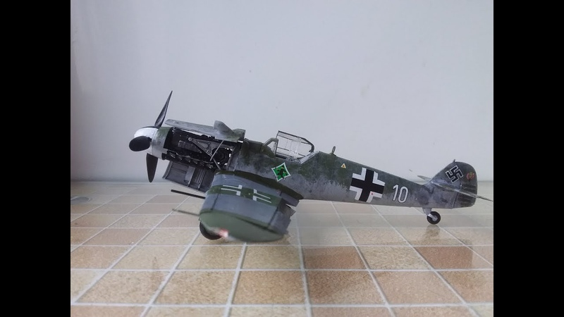 Мессершмитт Bf 109 G6. Обзор сборной модели от фирмы Звезда.