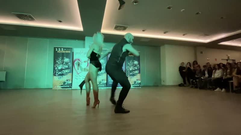 Show fusion Brazilian Zouk and Kizomba Sara Lopez and Ivo