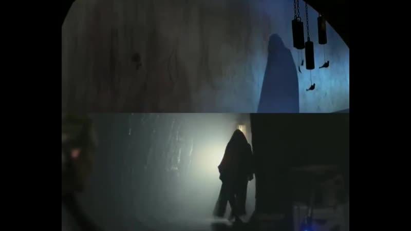 Parallels on Luke Skywalker's entrance 'Return of the Jedi' 1983 ➡ 'The Last Jedi' 2017