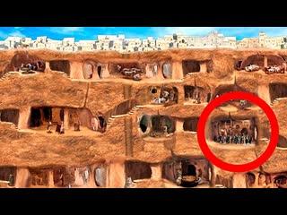 tophype 10 Самых Невероятных Подземных Городов, Которые Реально Существуют