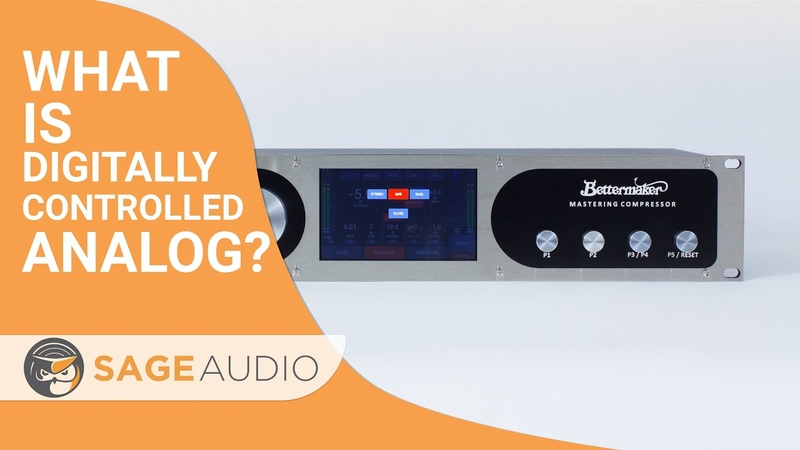 What is Digitally Controlled Analog — Sage Audio