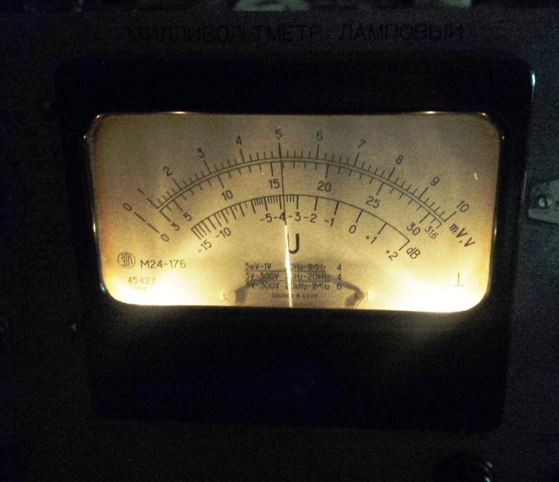Небольшая модернизация лампового милливольтметра В3-13., изображение №16