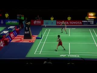 Bdminton - Thailandia Masters Semifinal femenina AYamaguchi - CMarn - RTVEes