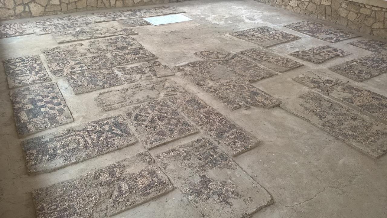 Мозаика древней Фригии