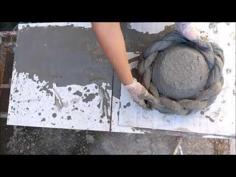 DIY- RECICLE SEMPRE ! Como Fazer Vaso de Toalha (trançado)♥