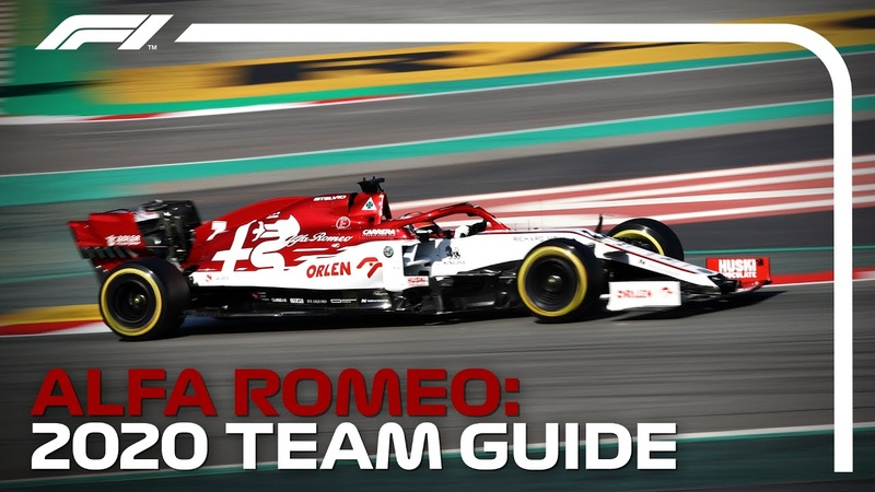 Alfa Romeo 2020 Formula 1 Team Guide