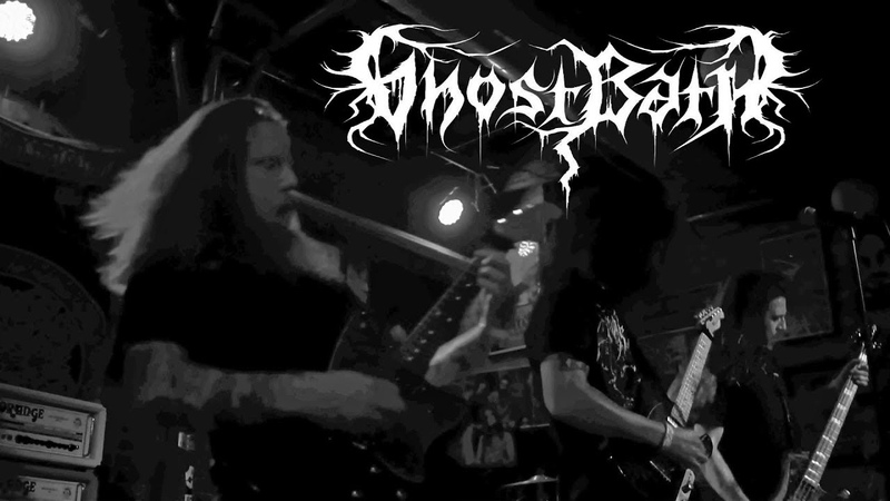 Ghost Bath live at Reggies 8 29 2018 USA Depressive Post Black Metal
