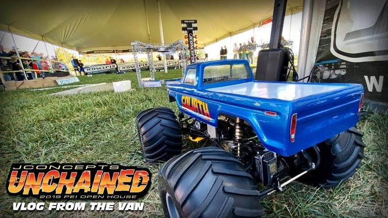 Van VLog - Unchained at the Samson Monster Truck Open House