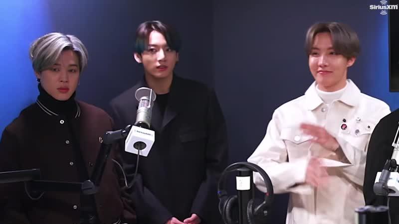 Клап клап 21 02 2020 Интервью BTS для радио Sirius XM