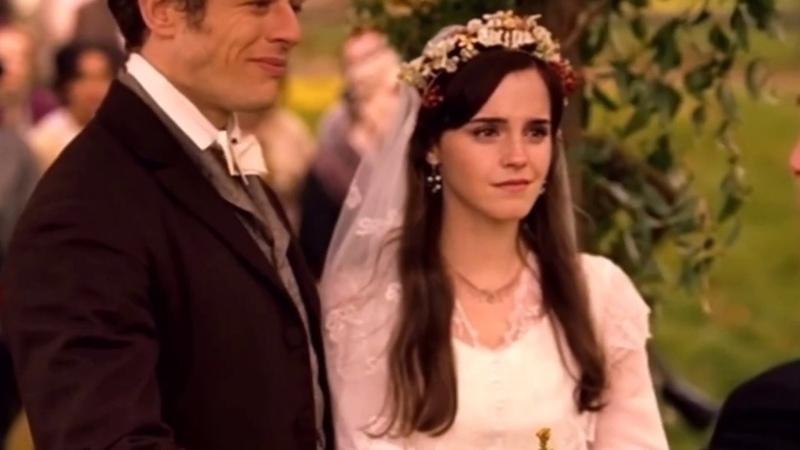 Meg John's wedding HD Little Women