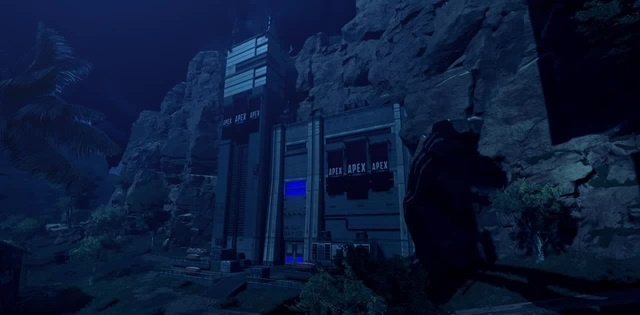 Бункер на ночном каньоне · coub коуб