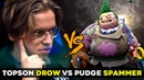 Topson vs Hero Spammer with NEW Pudge Persona - EPIC 20k Comeback Dota 2
