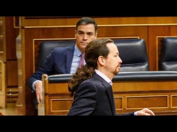 EMR Pánico en Moncla, el caso Dina reconvertido en un lodazal en el que Iglesias hunde al Gobierno