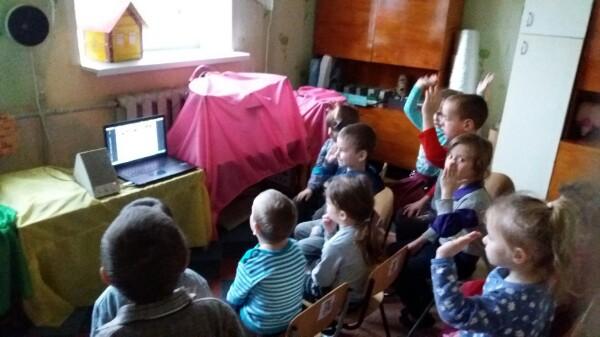 донецкая республиканская библиотека для детей, занятия с детьми, детям о животных, отдел внестационарного обслуживания