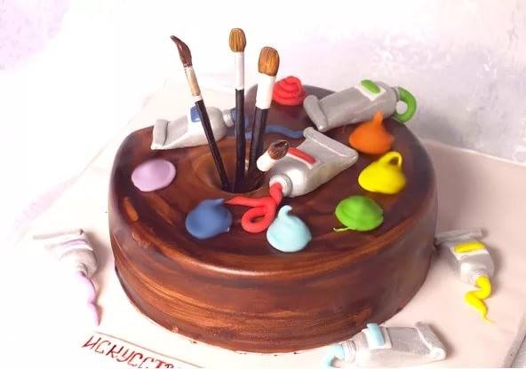 поздравление с днем рождения художнику открытка