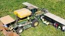 New Zealand North Island Farming Compilation Pumpkin Squash Kiwi's and Maize Dronly