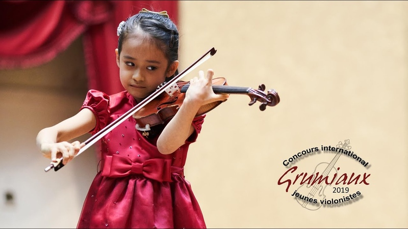 Himari YOSHIMURA - 7 yo Japan - 1st Grand Prize - International Grumiaux Competition 2019 - Paganini