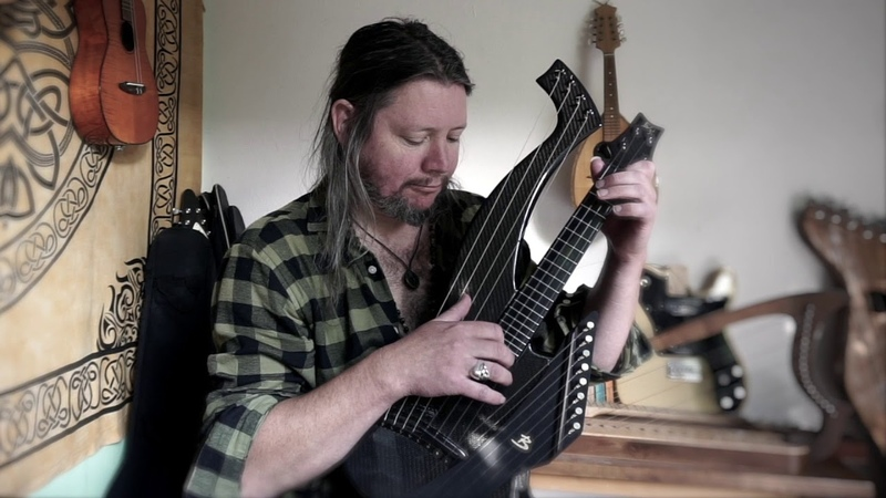 Another day a new tune on my Emerald harp ukulele featuring the Brunner Muriel super trebles
