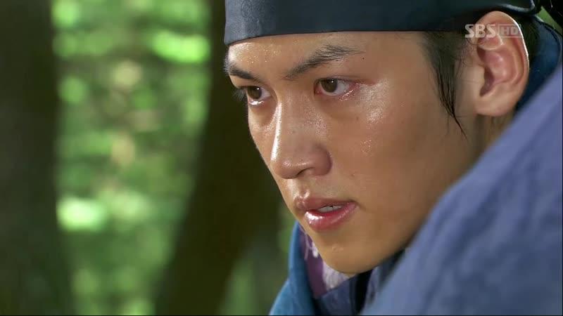 Эпизод из дорамы Воин Пэк Тон Су 13 сер Битва двух друзей