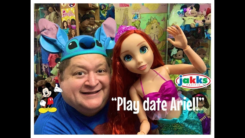 "Jakks Pacific Disney Princess Playdate Ariel 32"" Doll Review✨"