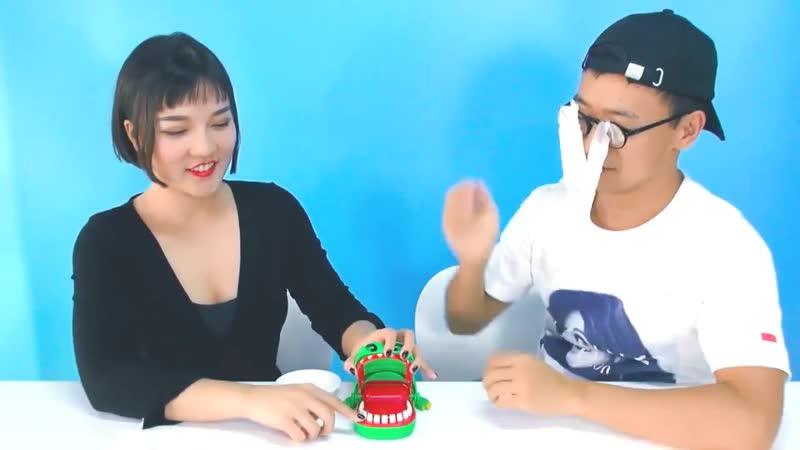 Креативные розыгрыши из ужасов игрушка с зубцами Аллигатор для