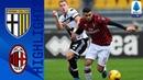 Парма 0-1 Милан Ковырок папочки Эрнандеса выводит красночёрных вперёд Серия А