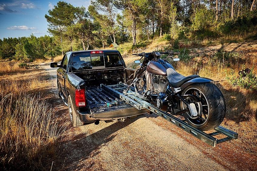 Porteos - трап/рампа для мотоцикла