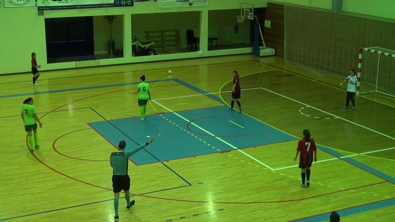 Campeonato Distrital Futsal Feminino 12ª Jornada GDC Machados vs UD Castromarinense