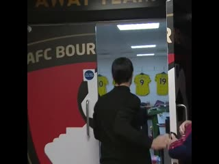 Our head coach arrives for his first game in charge of The Arsenal
