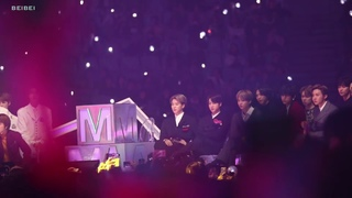 [191130]MMA BTS reaction to TXT stage - JIMIN focus