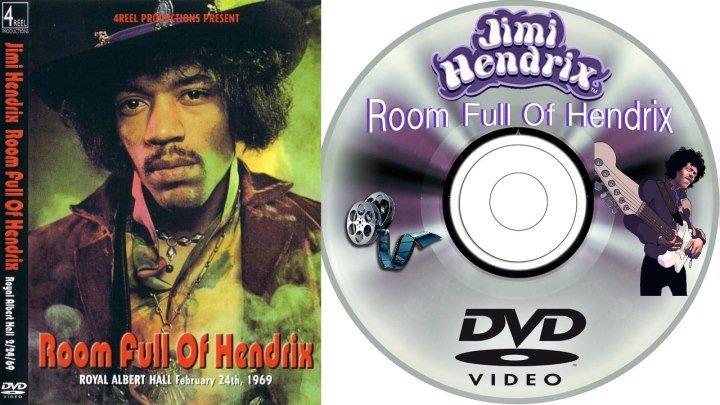 Jimi Hendrix: Room Full Of Hendrix - 24.02.1969 - Live in Royal Albert Hall - HD 720p - группа Рок Тусовка HD / Rock Party HD