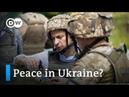 Zelenskiy raises hopes for peace in Ukraine Focus on Europe