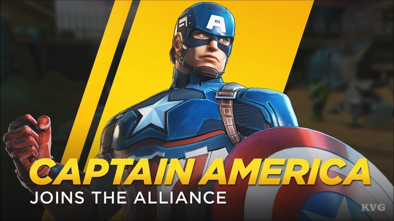Marvel Ultimate Alliance 3: The Black Order - Captain America Gameplay (HD) [1080p60FPS]