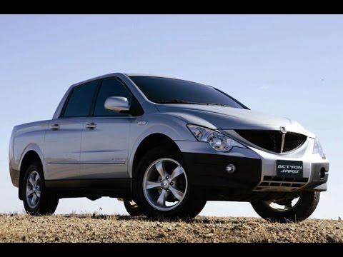 SsangYong Actyon Sports 2008 2 0 disel 4AT рекомендации владельца по автомобилю АНТИПУЗОТЕРКА