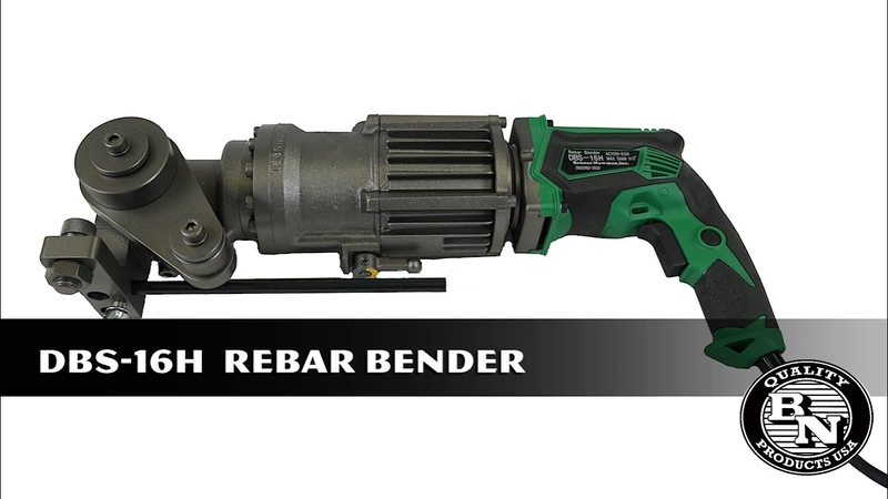 DBS 16H Rebar Bender product overview by