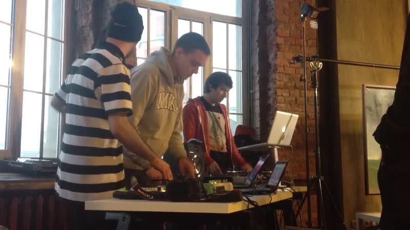 Andrew Crates Kasqa DJ Erik DJ Meph