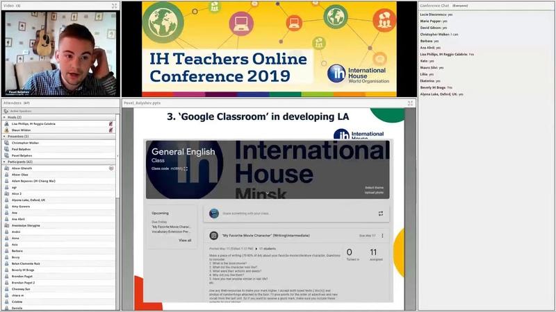 IH TOC 2019 Google Classroom – Pavel Balyshev, IH World
