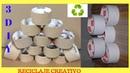 Ideas para hacer con TUBOS DE CARTÓN