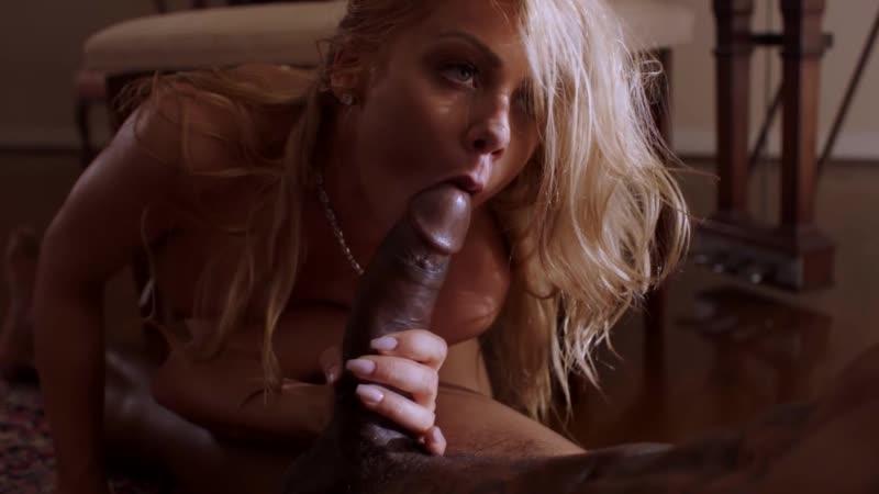 Blonde love big black