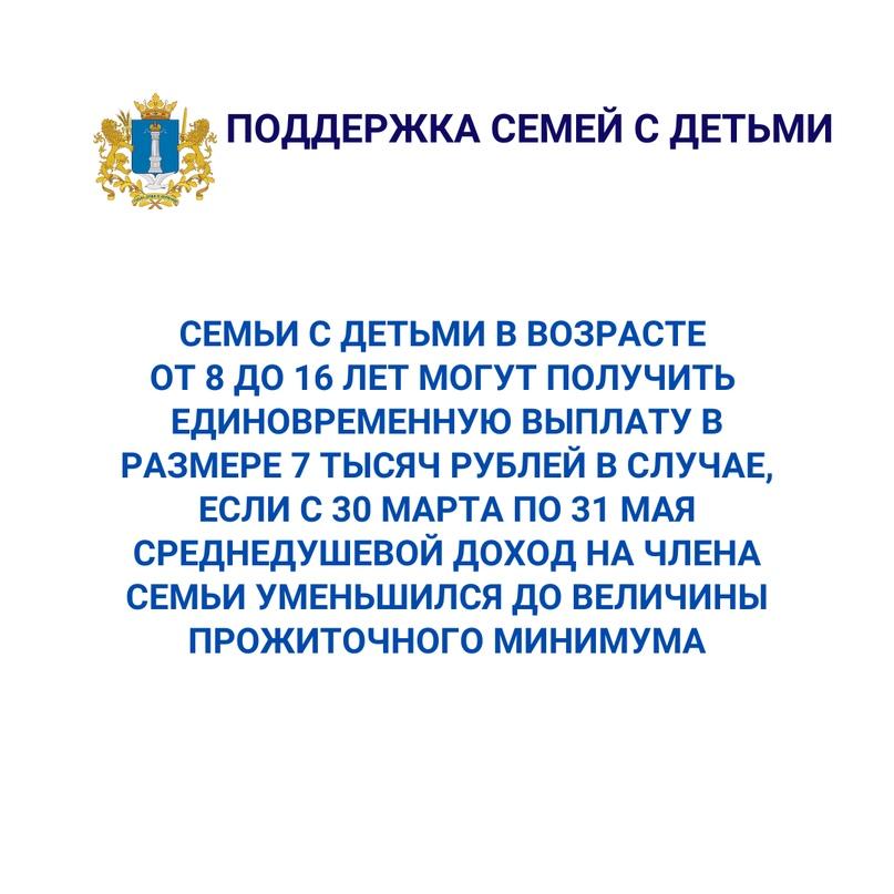 Господдержка жителей Ульяновской области в период карантина, изображение №3