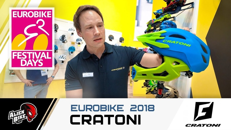 EuroBike 2018 CRATONI c maniac для детей и взрослых