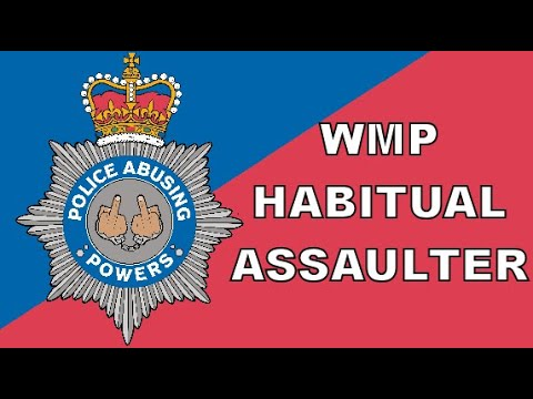 West Midlands Police Constable makes a habit of assault