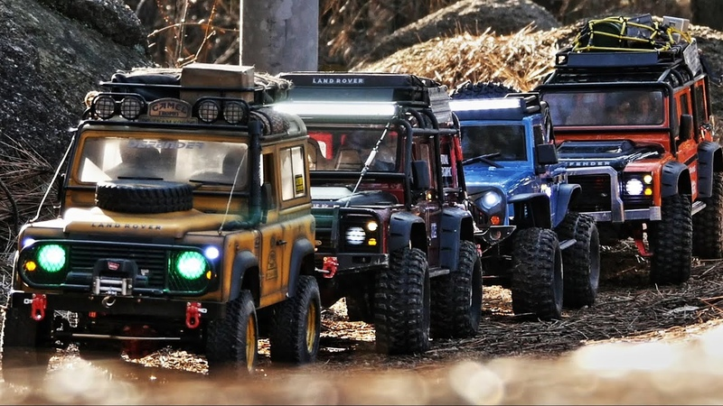 TRX4 Defender D110 Camel Trophy D90 T-ROCK Rubicon a mountain waik_