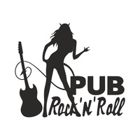 Логотип Rock'n'Roll Pub