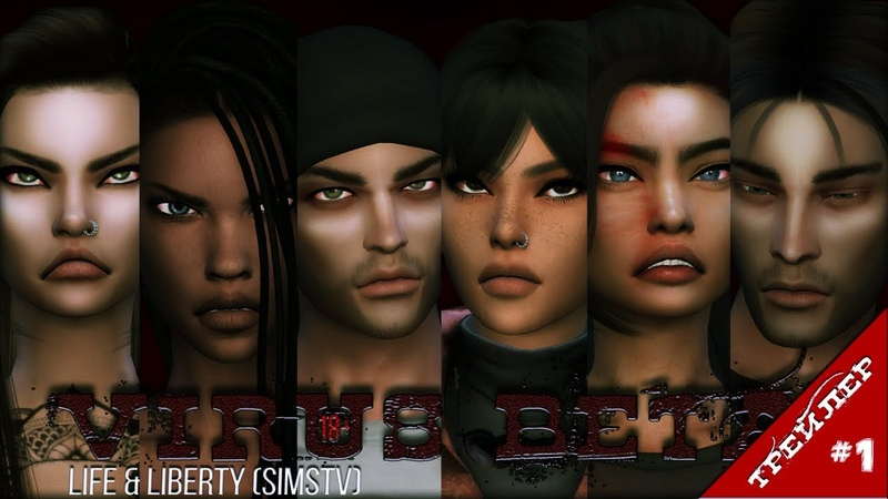 The Sims 4   Сериал Virus Beta   Трейлер (1 Серии)  18