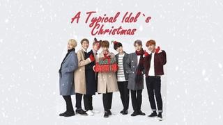 [RUS SUB] BTS - A typical Idol`s Christmas
